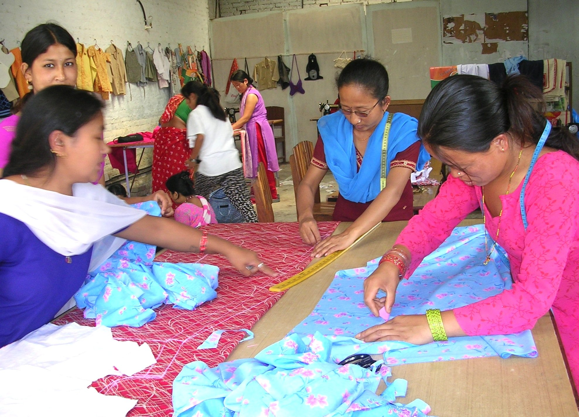 women hand sewing 2